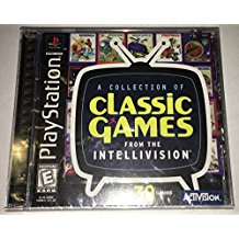 PS1: CLASSIC GAMES FROM THE INTELLIVISION; A COLLECTION OF (COMPLETE)
